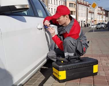 вскрытие машины в Домодедово